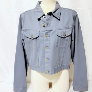 Vintage Smart Set Women's Light Blue Jean Jacket